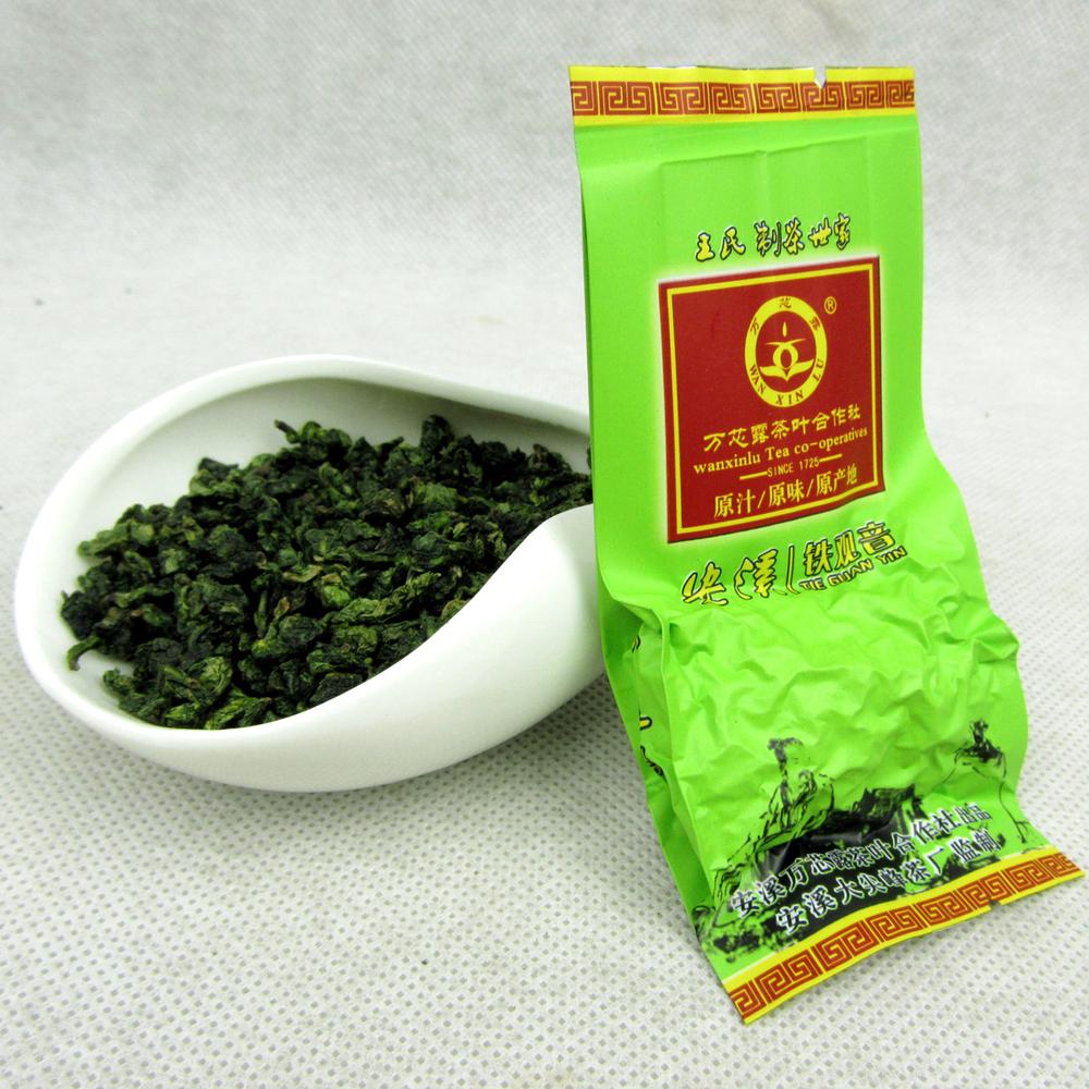 Hot sale 1 pc Fresh China Green Tikuanyin tea Fragrance tea Chinese Anxi Tieguanyin tea Natural