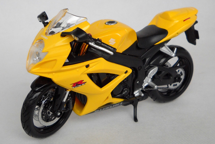 SUZUKI GSX R600 motorcycle model 1:12 scale models Alloy motorcycle racing model motorcycle model(China (Mainland))