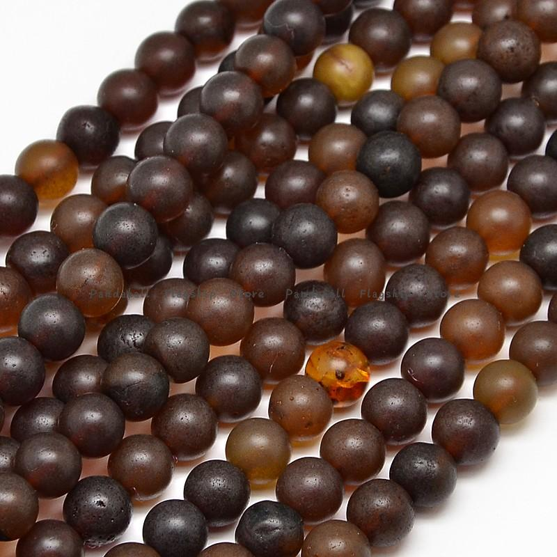 natural stone amber round beads strands, 8mm, hole: 1mm; about 49pcs/strand, 15.7<br><br>Aliexpress