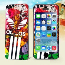 Colorful sports Luxury Sticker for Iphone 5 5S SE Screen Protector iphone5 iphone5s iphoneSE smart phones cover film