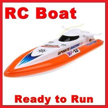 HQ 950-10 RC Racing Speed Boat 40cm Electric Radio Remote Control Ship toy P2
