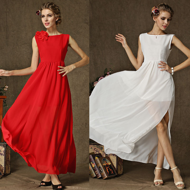 Dresses wedding 2015 new fashion to party shop wear ...