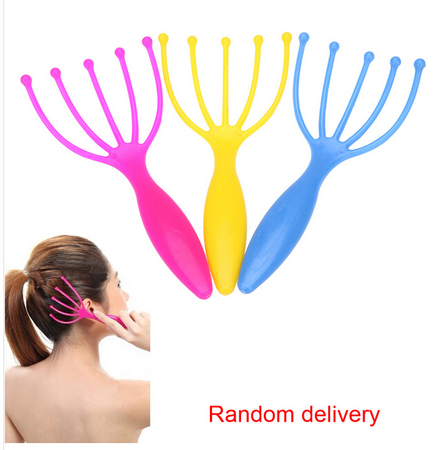 hotseller- Five Finger Massage Head Massager SPA Scalp Body care(China (Mainland))