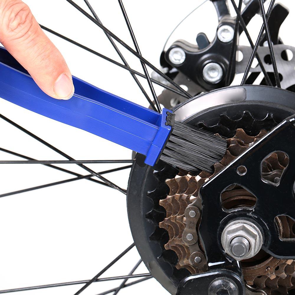 Chain Cleaner Bike Motorcycle Chain Wheel Flywheel Clean Brush Bicycle Crankset Cleaning Brush Tool Set(China (Mainland))