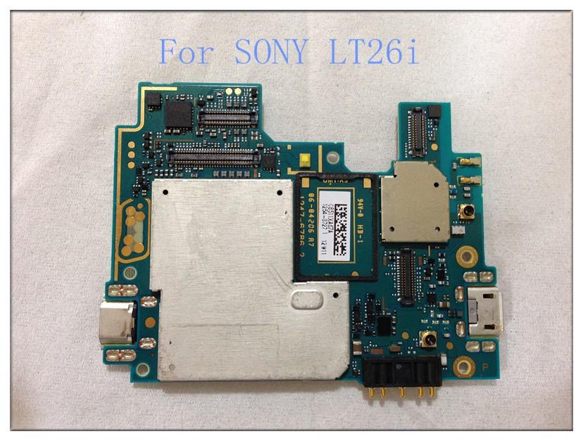 LT26i original phone motherboard for Sony Xperia S LT26i LT26 cell phones Motherboard repair and replacement