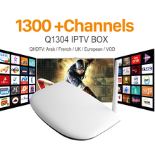 Buy HD IPTV Smart tv box android Media Player Arabic 1300+ iptv Channels account Subscription 1 year Europe Italian French STB for $44.60 in AliExpress store