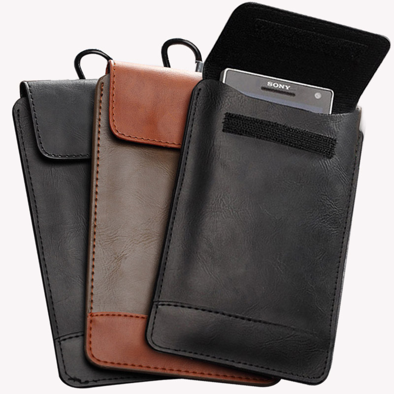 Universal Soft PU Leather Pouch Bag Case For iPhone 6 6s Plus 5 5S 5C Samsung Galaxy S6 Edge S5 S4 Huawei P8 Lite Redmi note 2 3