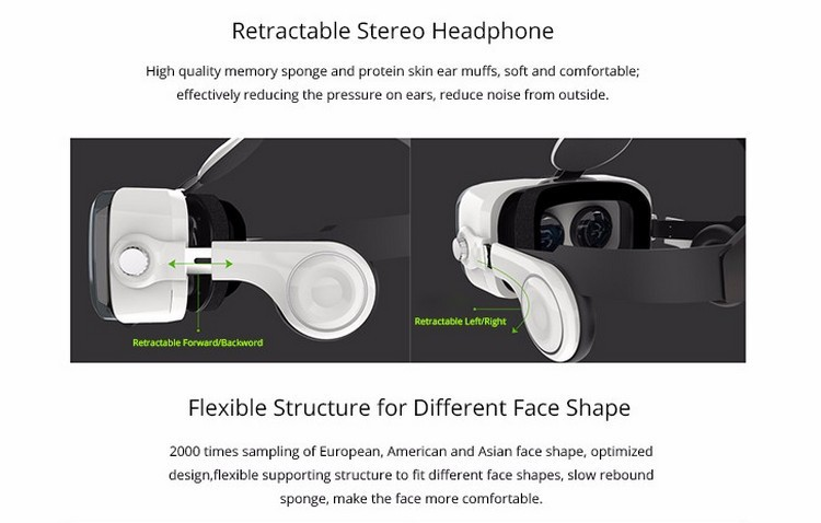 Xiaozhai BOBOVR Z4 3D VR Glasses Virtual Reality Headset Cardboard Oculus Rift Gear VR Vive Box for iPhone HTC 4.7~5.56 Smartphone (23)