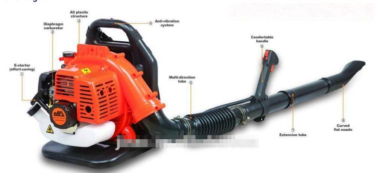 Professional Backpack garden blower electric vacuum leaf blower leaf blower gasoline engine 42.7CC(China (Mainland))
