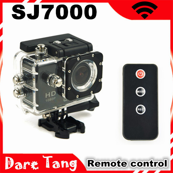 2015 New Wifi Action Camera SJ7000 Sports extreme camera Full HD 1080P 1.5 inch IR Remote Control Waterproof DVR free shipping<br><br>Aliexpress