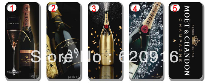 moet chandon red wine style hard case cover iphone 4 4s 4G 5th 1  -  yuncheng case store