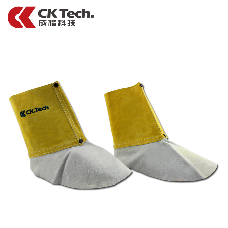 Welding Overshoes Leather Foot Cover Cowhide Welder Welding Shoe Work Clothing9100(China (Mainland))