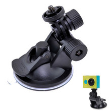 Driving Recorder Mini Car Suction Cup Holder Mount Tripod Car Sucker Record Holder for Gopro Xiaomi yi Action Camera Accessories
