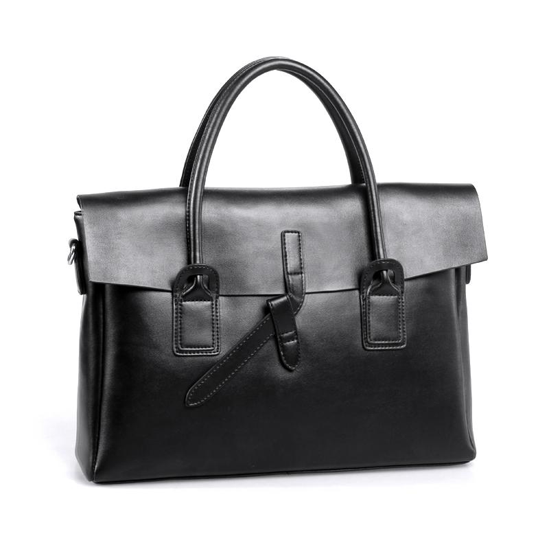 Model  Leather Shoulder Bag Womens Business Tote Vintage Handbag For Women
