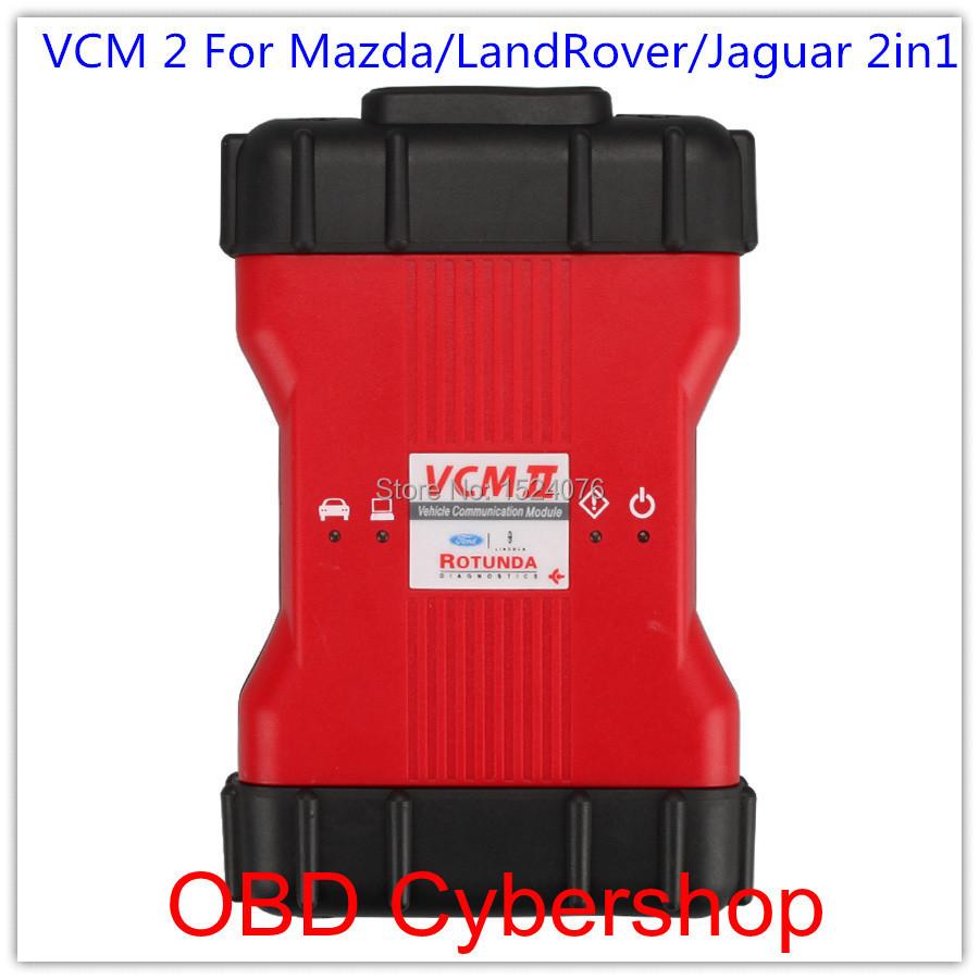 New VCM 2 IDS V90 JLR SDD V142 for Mazda/LandRover/Jaguar 2in1 Diagnostic Tool Free Shipping(China (Mainland))