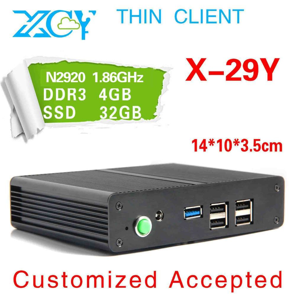 Arm Computer with Quad Core Celeron N2920 Gigabit LAN XBMC HD Graphics Phone Size can be used internet cafe(China (Mainland))