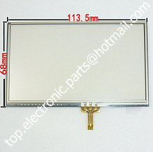 4.7'' 4.8'' 4.7 inch 4.8 inch touch screen digitizer lens for GPS MP4 MP5 MID 114mm*68mm free shipping as showed in the photo(China (Mainland))