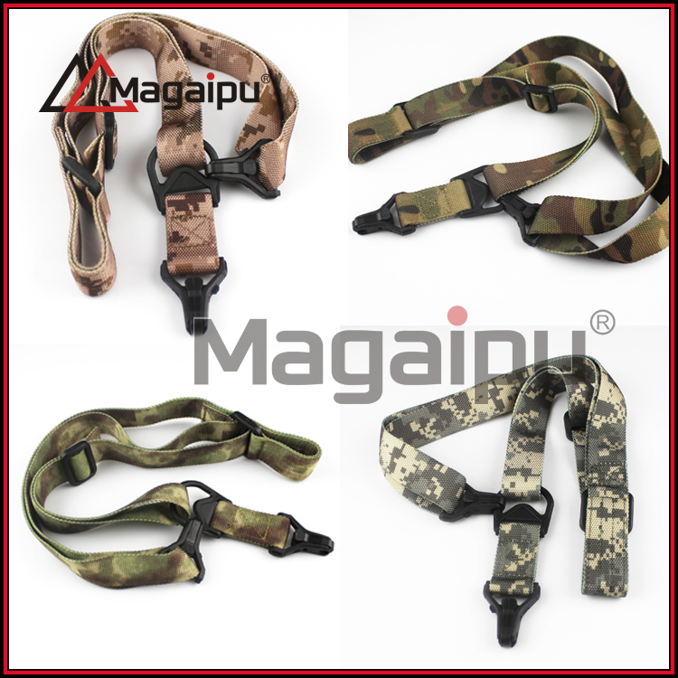 Airsoft Hunting Belt Tactical Military Elastic Gear Gun Sling Strap Outdoor Camping Survival Sling