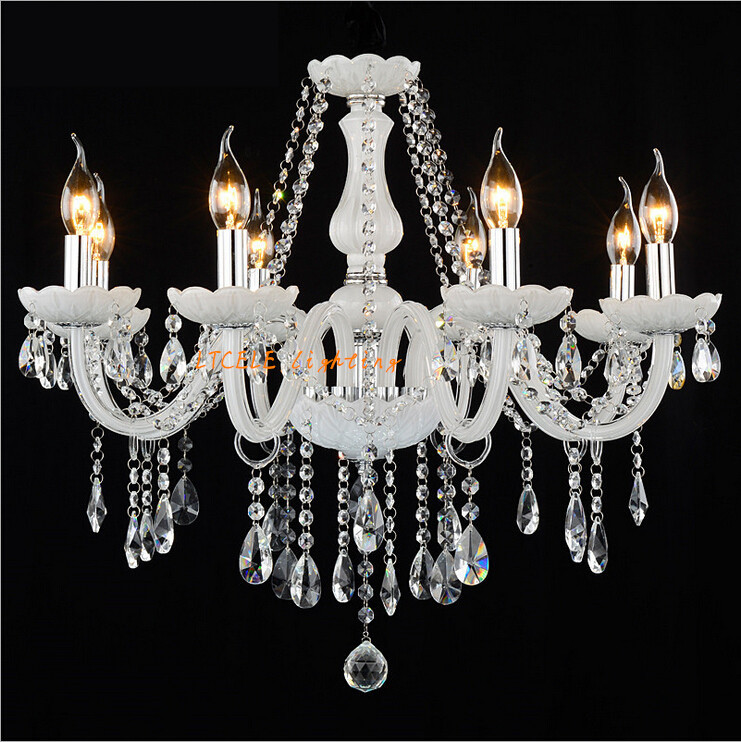 Modern led crystal chandelier Bedroom lamp lustres de cristais Home decoration light crystal pendants for chandeliers free ship<br><br>Aliexpress