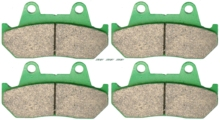 Disc Brake Pads Set HONDA GL650 GL 650 D2TE 1983 &up / DD - ID VF1000 VF 1000 RE RF 1984 1985 1986 Da Yan International Trade Co., Ltd store