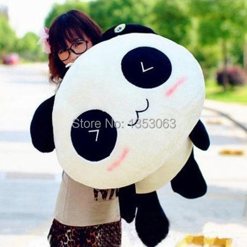 Stuffed Plush Doll Toy Animal Giant 70CM Cute Panda Pillow Bolster Gift New(China (Mainland))