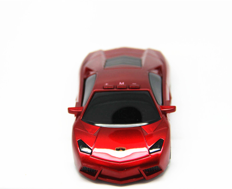 Free Shipping Super Model Car Radar Detector with LED Display Russian Version/English Version Red Color(China (Mainland))