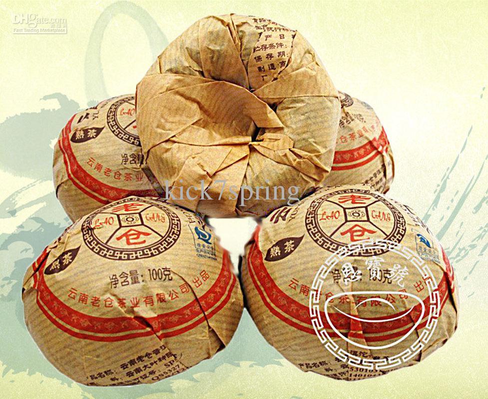 Free Shipping Puer Tea Raw Ripe Puerh Healthy Care Weight Loss Oriental Coffee Mini Puer Tea