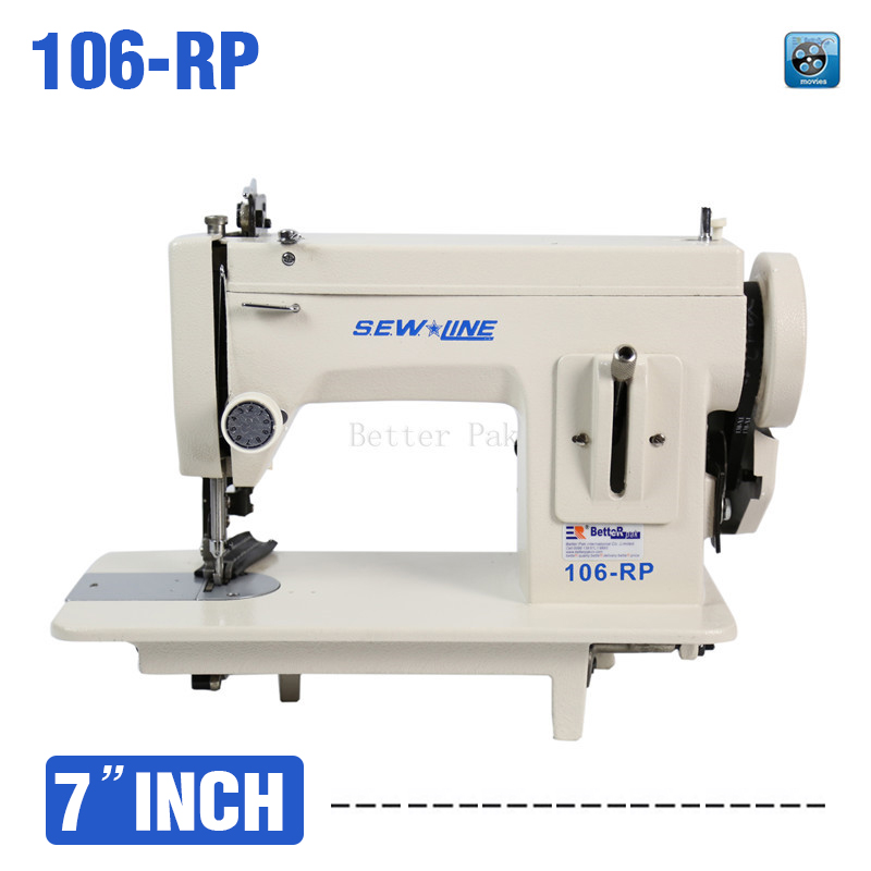SEW LINE 106-RP Household sewing machine, fur,leather,fell clothes thicken machine.Thick fabric material machine - BetteRpak Store store