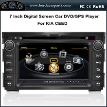 Car DVD Audio Video Player For KIA CEED 2010-2011 With GPS Navigation Radio Bluetooth Free Map
