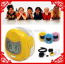 Christmas Big Sale *Retail & Wholesale - Kids Use Fingertip Pediatric Pulse Oximeter Spo2 Monitor for Children US-98(China (Mainland))