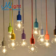 Красочные современные старинные E27 подвесной светильник эдисон лампы бар ресторан спальни большой торговый центр Muuto искусство подвесные светильники