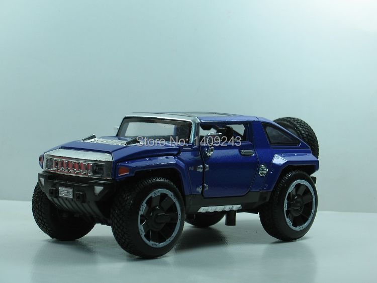 Free shipping 1:32 HX Hummer pull back alloy car model car toy off-road military vehicles car jeep in stock[16-111-31](China (Mainland))