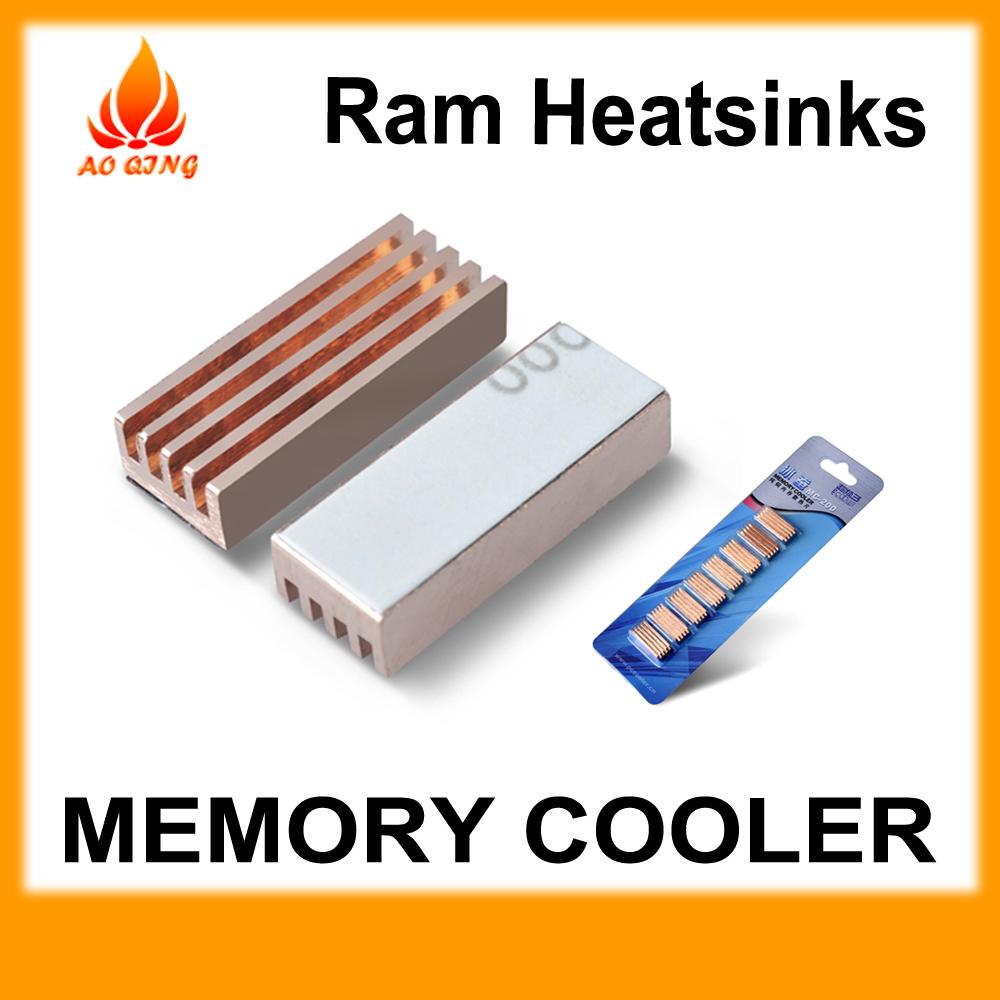 2 pack Ram Heatsinks Copper memory cooler low Price Pccooler MC-200