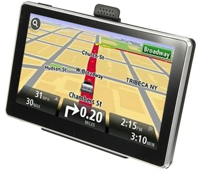 Portable Fast GPS System 4.3 inch Car GPS Navigator, 4G memroy navigation,DDR 128M 500Mhz CPU latest Europe,world map,Free ship(China (Mainland))
