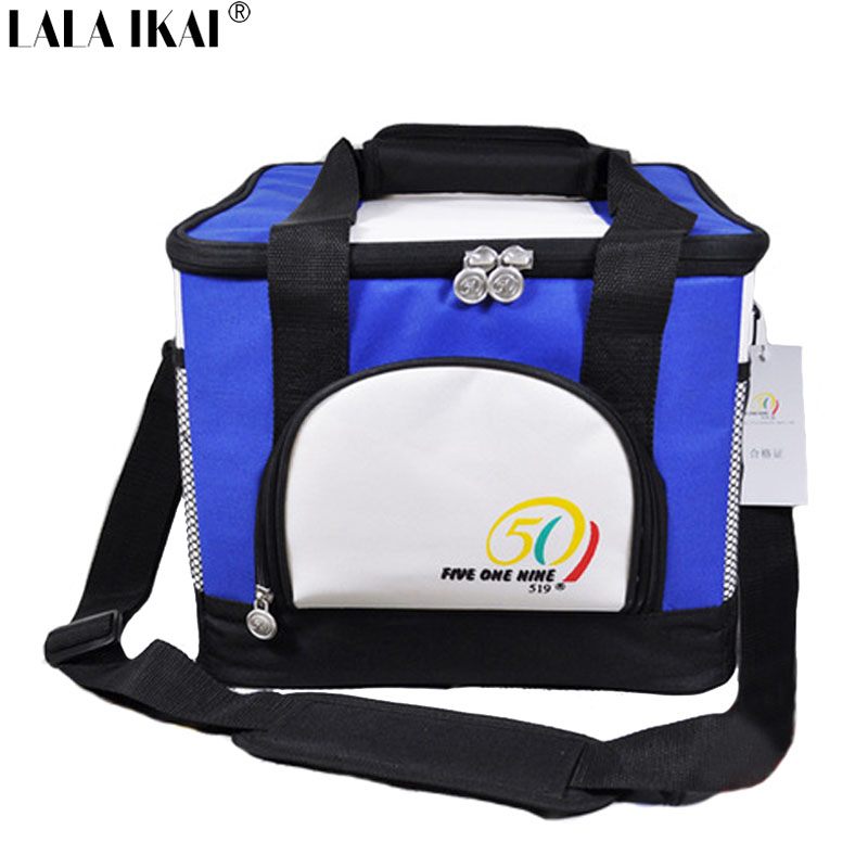 High Quality Cooler Bag Outdoor 600D Nylon/PVC Thermal Food Bag Ice Bag Outdoor Picnic Lunch Box For 6 Bottle Beers YIN0319-5(China (Mainland))