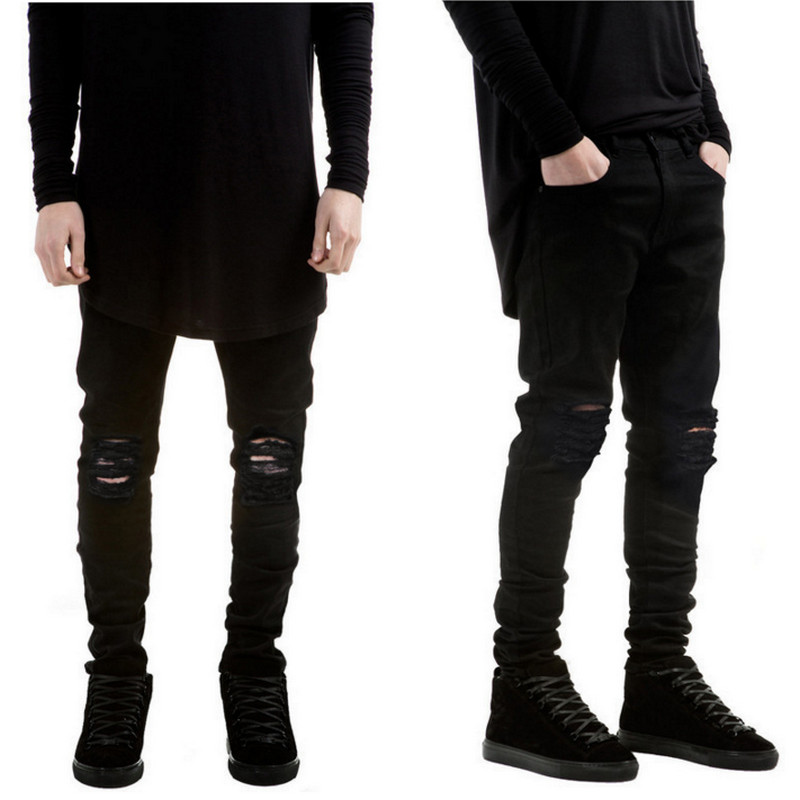 Images of Black Ripped Jeans Mens - Fashion Trends and Models