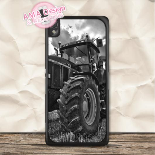 Big Farm Tractor John Deere Durable Case For Sony Xperia Z4 Z3 Z2 Z1 compact Z C3 C T3 T2 E4 SP M4 M2 Global Shipping(China (Mainland))