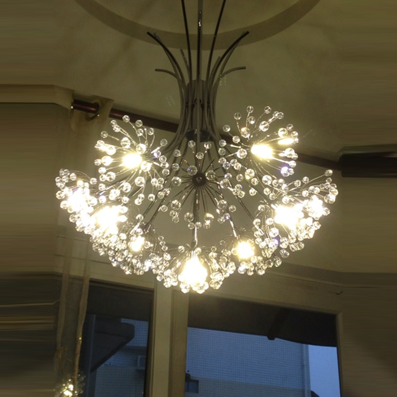 dandelion chandelier caboche chandelier crystal chandelier manufacturer bubble crystal chandeliers flower lighting wedding <br><br>Aliexpress