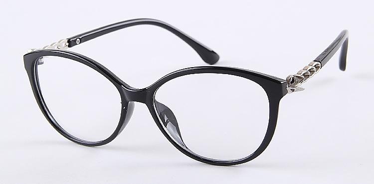 9242 Plastic frame Glasses new plain glasses frame oculos spectacles oculos de grau plain mirror frame glasses rimmed glasses(China (Mainland))