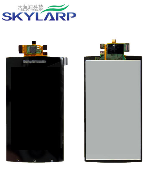 Genuine OEM Black Lens Full LCD Display Monitor+Touch Screen Digitizer Assembly For Sony Ericsson LT15i, LT18i, X12(China (Mainland))