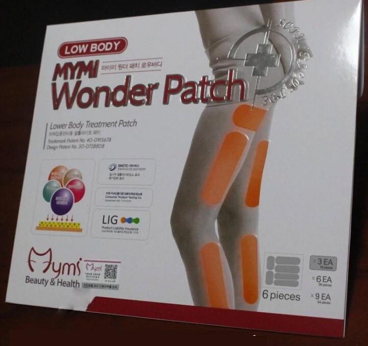 18 pcs model favorite MYMI wonder slim patch for leg body ...