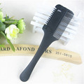 1 Pcs Professional Hair Razor Comb Black Handle Hair Razor Cutting Scissor Home DIY Thinning Trimmer