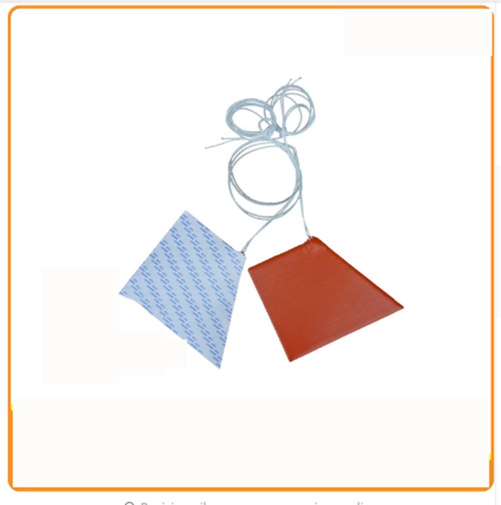 (Up 120 down 200 high 160)mm 220V 170W riscaldatore di silicio letto con 3m adhesive stampante 3d silicone heating pad(China (Mainland))