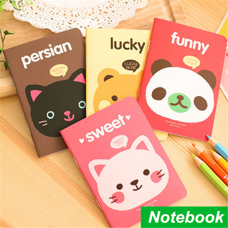 12Pieces/lot Mini Paper Notebook Soft Copybook NoteBooks Diary Daily Memos Note book Stationery Office &amp; School Supplies<br><br>Aliexpress
