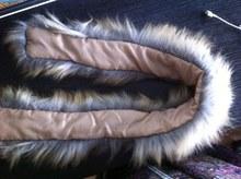 Real Raccoon Fur Scarf Women 100% Natural Raccoon Fur Collar Winter Warm Fur Collar Scarves Design For Lady S#1(China (Mainland))