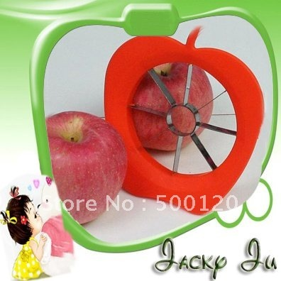 120pcs/Lot New Corer Slicer Easy Cutter Fruit Knife Apple Piler Pear Kitchen Collection