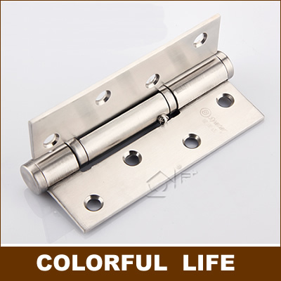 High quality ,Quiet hydraulic buffer hinge,304 Stainless steel , positioning 90 degree , Automatic closing, Hardware(China (Mainland))