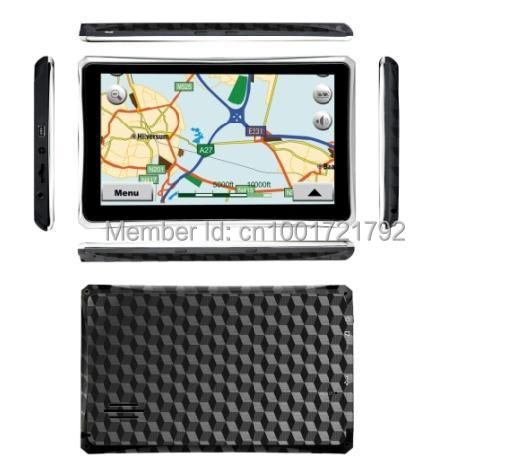 7-inch high-definition screen is highlighted cpt contained handheld portable GPS car navigation systems(China (Mainland))
