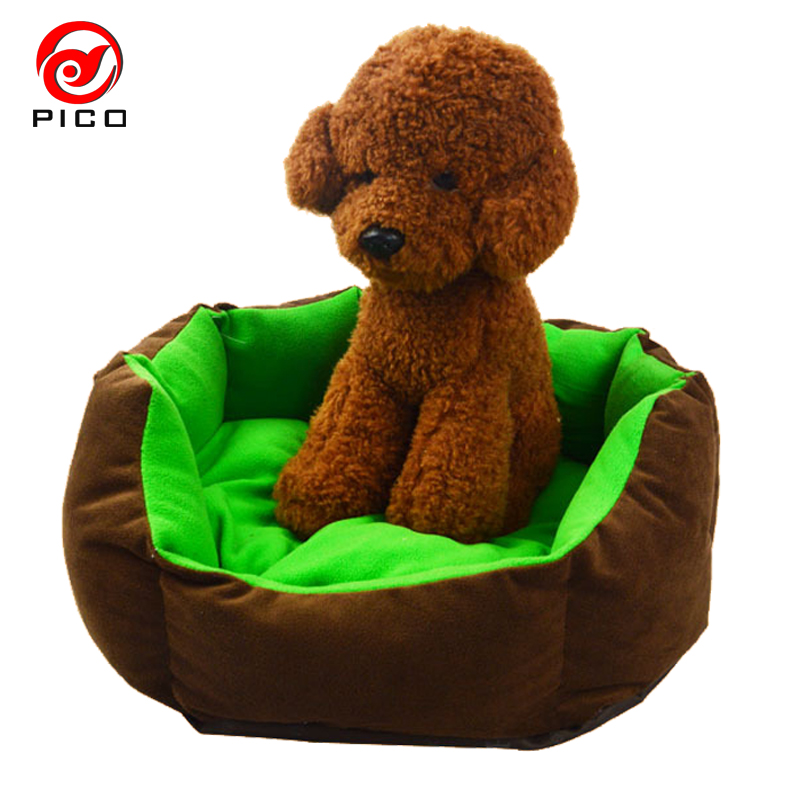 Cheap Cute Cats Puppy Beds Comfortable Pets Dog Kitten Beddings House Nest Pad Soft Fleece Bed Home&Garden Animal Products ZL179(China (Mainland))