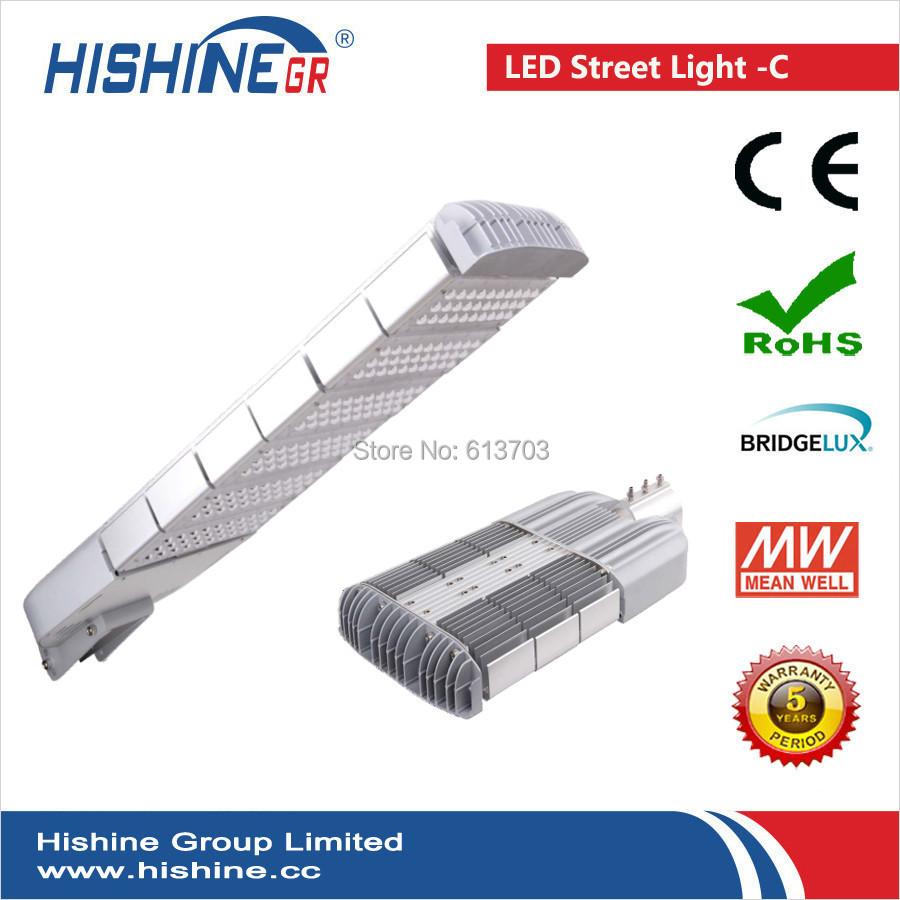 300W led street light HS-SL300W-C waterproof outdoor lighting BRIDGELUX chip +Mean Well driver UL certificate(China (Mainland))